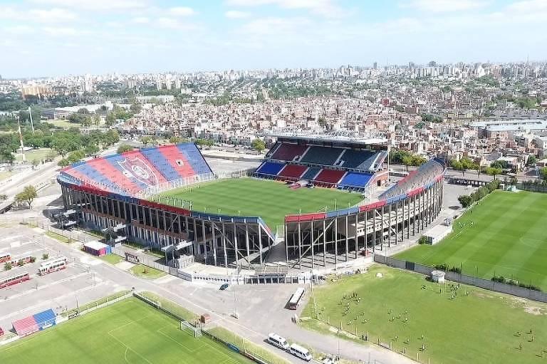 Estádio Pedro Bidegain, popularmente chamado de Nuevo Gasómetro, onde joga o San Lorenzo
