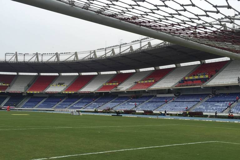 Estádio Metropolitano Roberto Meléndez, onde joga o Junior Barranquilla