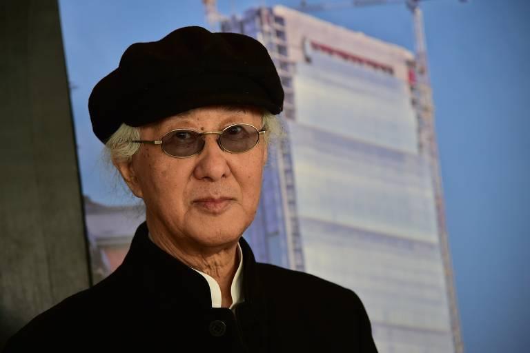 O arquiteto japonês Arata Isozaki