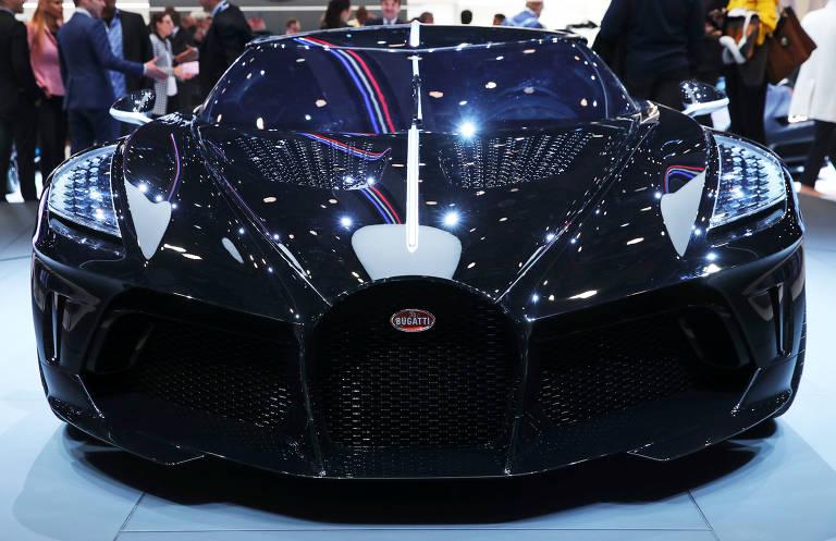 Bugatti lança o carro mais caro do ano