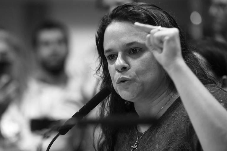 A deputada Janaina Paschoal (PSL), que lançou candidatura à presidência da Alesp