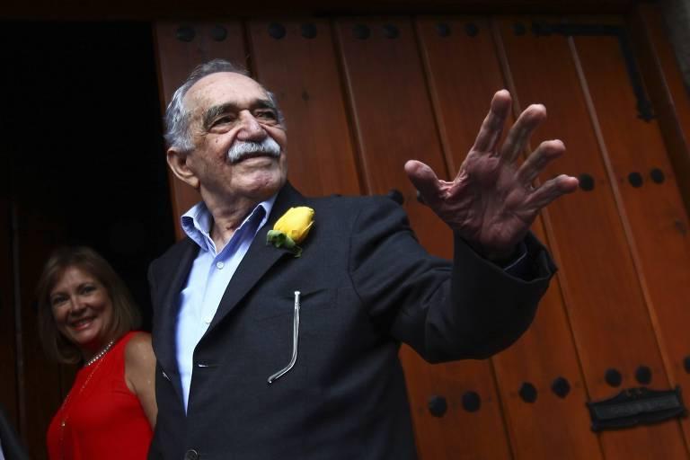 O autor Gabriel Garcia Marquez, na Cidade do México
