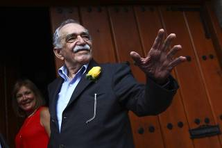 MEXICO-MEXICO CITY-CULTURE-GARCIA MARQUEZ