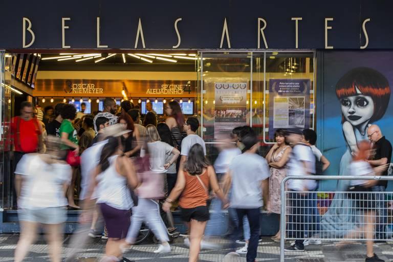 Belas Artes, cinema de rua