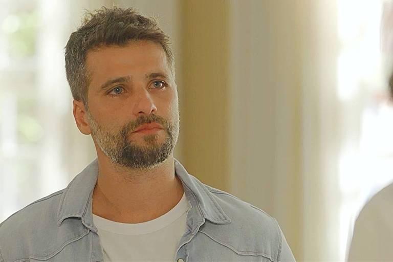 """Bruno Gagliasso como Gabriel em cena de """"O Sétimo Guardião"""""""