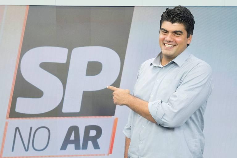 O jornalista André Azeredo é o mais novo contratado da Record