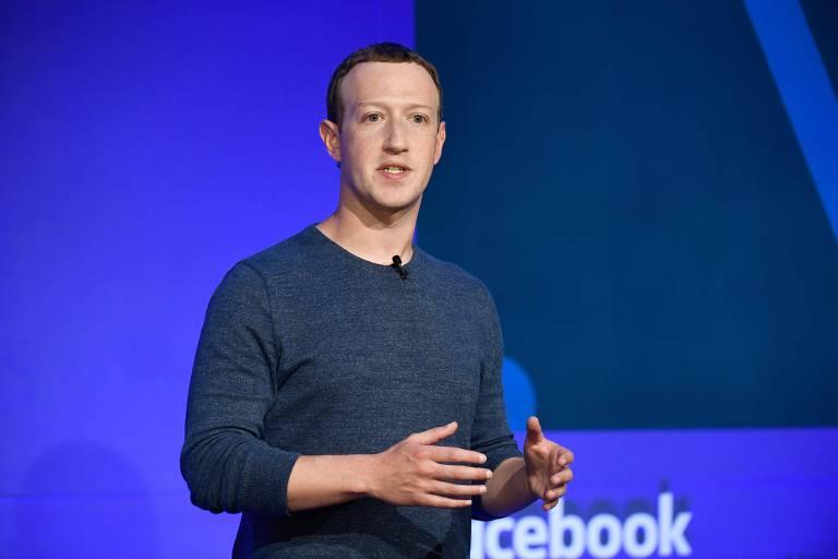 O presidente do Facebook, Mark Zuckerberg