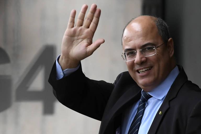 O governador do Rio de Janeiro, Wilson Witzel (PSC), que sonha com o Palácio do Planalto em 2022