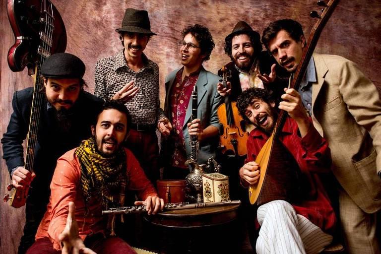Banda Grand Bazaar se apresenta no Sesc Itaquera