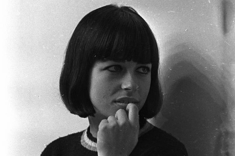 A cantora Nara Leão em 1967