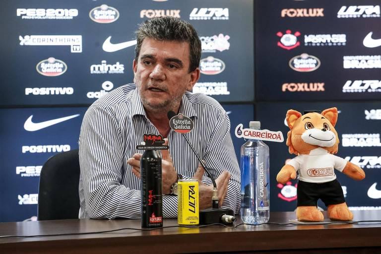 Andrés Sanchez foi internado em São Paulo na última quarta (6), mas já deixou a UTI