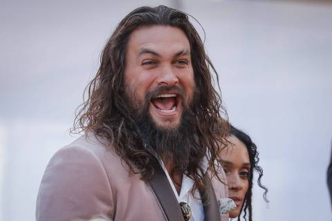 91st Academy Awards - Oscars Arrivals - Red Carpet - Hollywood, Los Angeles, California, U.S., February 24, 2019. Jason Momoa and Lisa Bonet REUTERS/Lucas Jackson ORG XMIT: OSC484