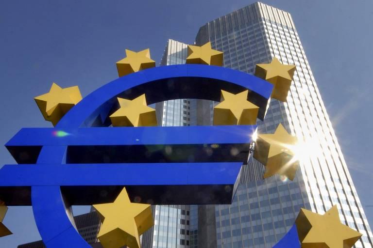 Sede do Banco Central Europeu, em Frankfurt, na Alemanha