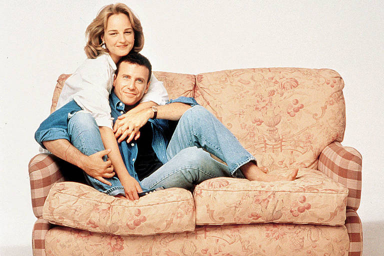 Paul (Paul Reiser) e Jamie (Helen Hunt), o casal do seriado 'Mad About You'