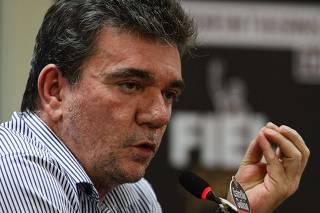 Coletiva presidente do Corinthians Andrés Sanchez