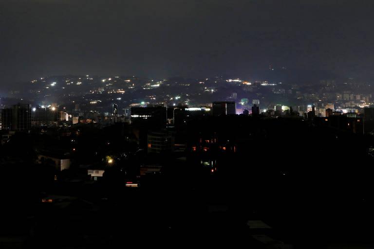 Apagão em Caracas