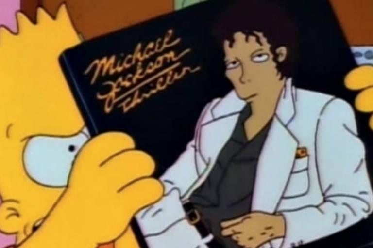 Episódio de 'Os Simpsons' que traz voz de Michael Jackson