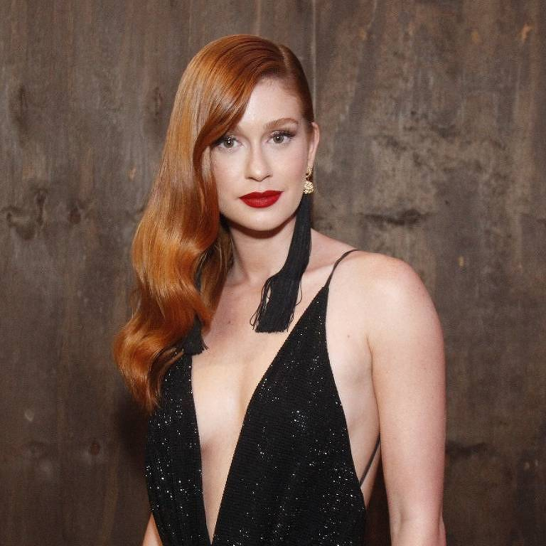 Marina Ruy Barbosa na Cerimônia de entrega do 8º prêmio Men of The Year (MOTY), da GQ Brasil Copacabana Palace
