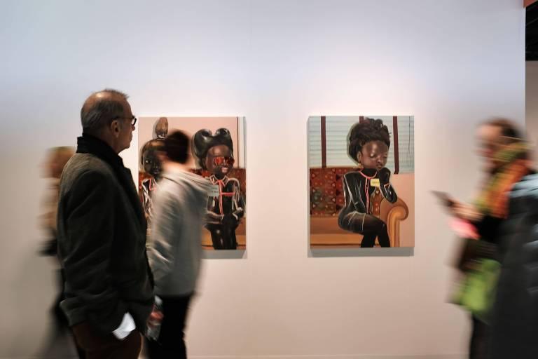 Público na abertura da edição de 2019 do Armory Show, em Nova York