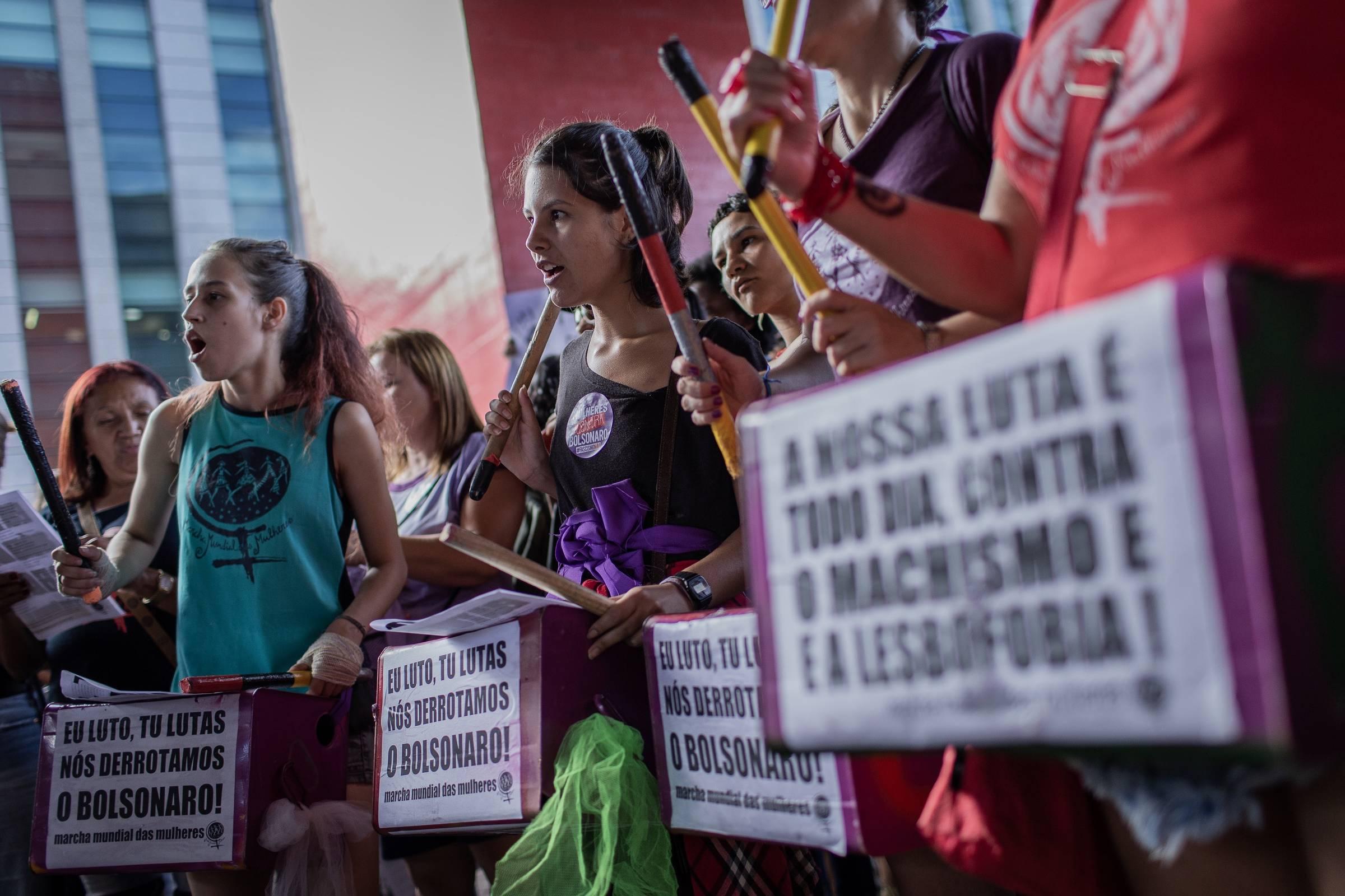897b05134 Por que o feminismo é rejeitado por tantas mulheres  - 15 03 2019 - Mariliz  Pereira Jorge - Folha