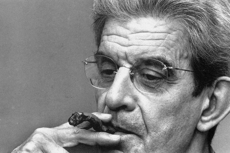 O psicanalista francês Jacques Lacan em 1971