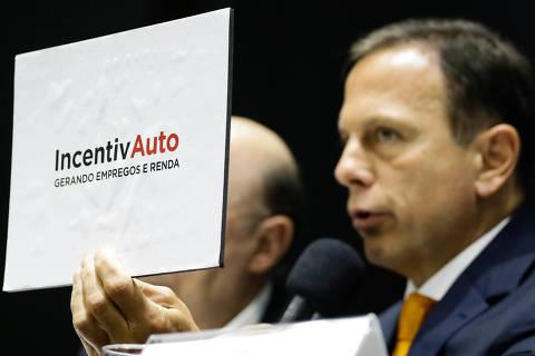 Doria retoma prática de governos do PT e anuncia política industrial em SP