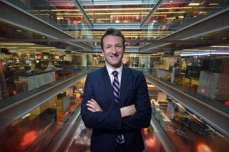 Jamie Angus, diretor do BBC World Service