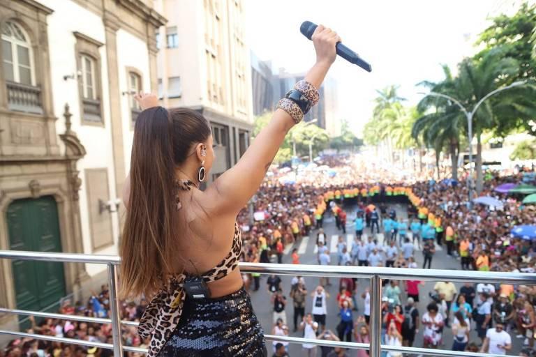 Anitta comanda Bloco das Poderosas em 2019