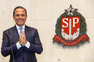 Cerimônia de posse do governador do Estado de São Paulo.