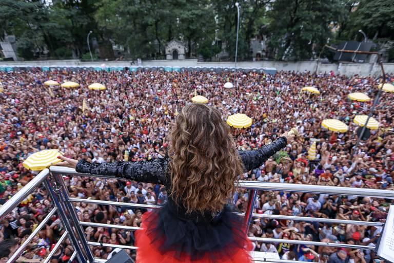 Daniela Mercury no pós-Carnaval de SP