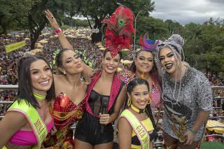 Famosos prestigiam Preta Gil e Anitta e Claudia Leitte no pós-Carnaval; veja fotos