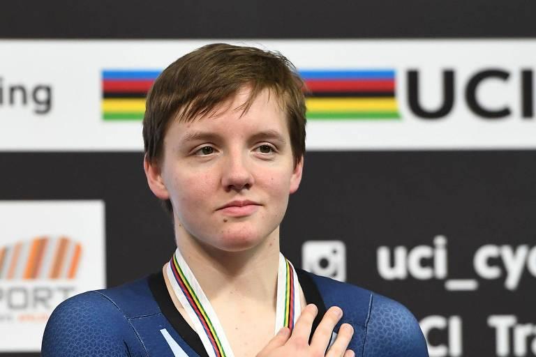 Família diz que campeã mundial de ciclismo sofreu concussão antes de morrer