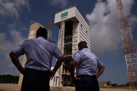 ALCÂNTARA, MA,  BRASIL,  14-09-2018, 12h00: Estrutura do Centro de Lançamento de Alcântara, no Maranhão, onde situa-se a plataforma de lançamento de foguetes (FOTO), tecnicamente chamada de Torre Móvel de Integração, do Programa Espacial Brasileiro. (Foto: Pedro Ladeira/Folhapress, PODER) ***ESPECIAL***