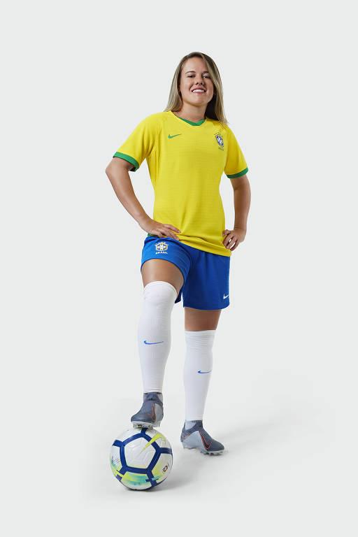Seleção brasileira feminina terá uniforme exclusivo