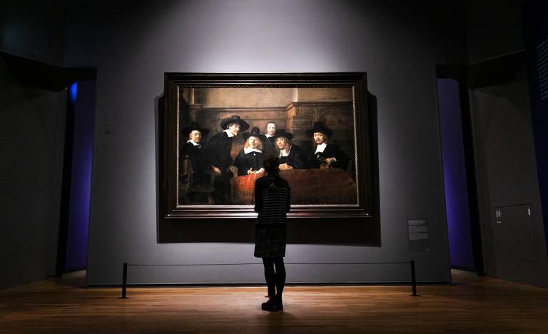 Rembrandt faz 350 anos