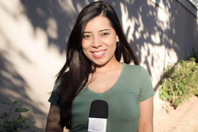 Fernanda Salles, assessora de deputado do PSL-MG e repórter do site Terça Livre