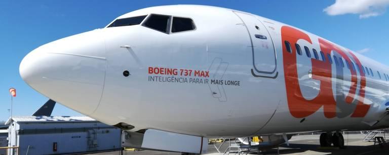 Primeiro Boeing 737 MAX 8 da Gol