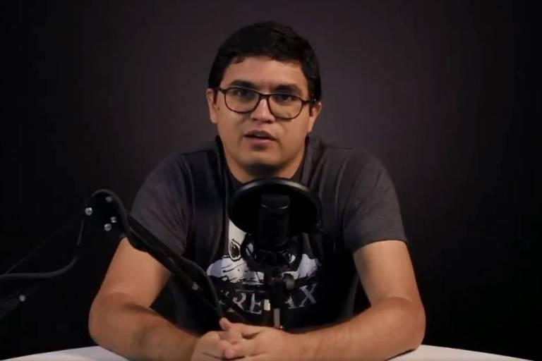 O jornalista venezuelano Luiz Carlos Díaz, preso pelo regime de Nicolás Maduro