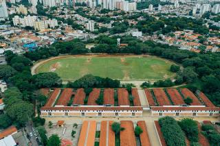 Parque Municipal Chácara do Jockey, situado na zona oeste de São Paulo