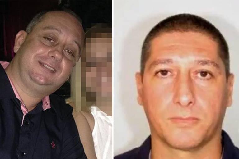 O ex-PM Élcio Vieira de Queiroz e o PM reformado Ronnie Lessa