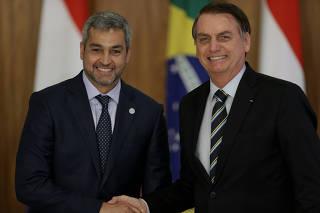 PARAGUAI / BOLSONARO / ABDO BENITEZ