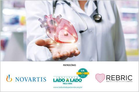 Imagem para o seminário sobre insuficiência cardíaca, coração fraco