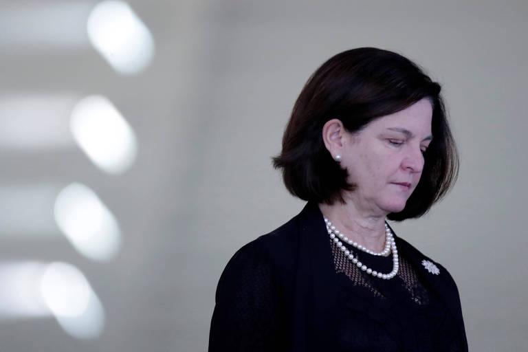 A procuradora-geral da República, Raquel Dodge, que entrou com uma ação no STF contra o acordo da Lava Jato que prevê criação de fundo anticorrupção