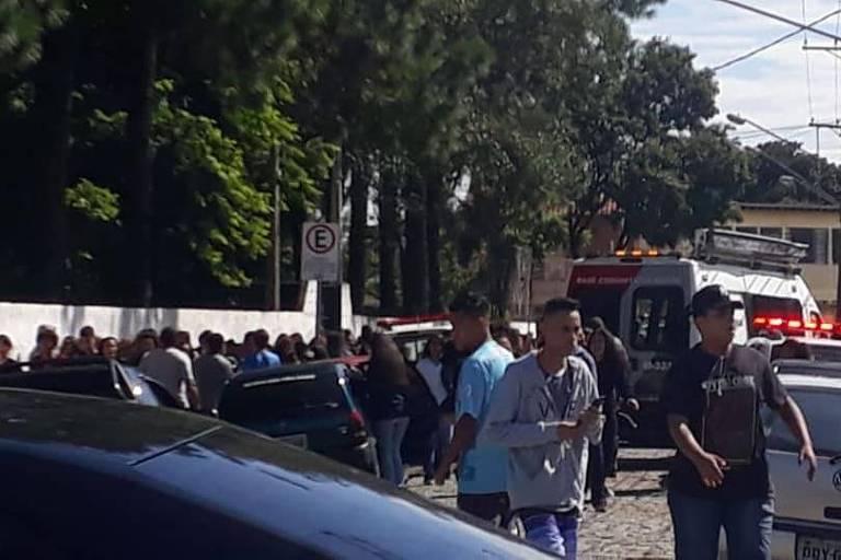 Escola Raul Brasil, em Suzano, onde crianças foram baleadas em um atentado