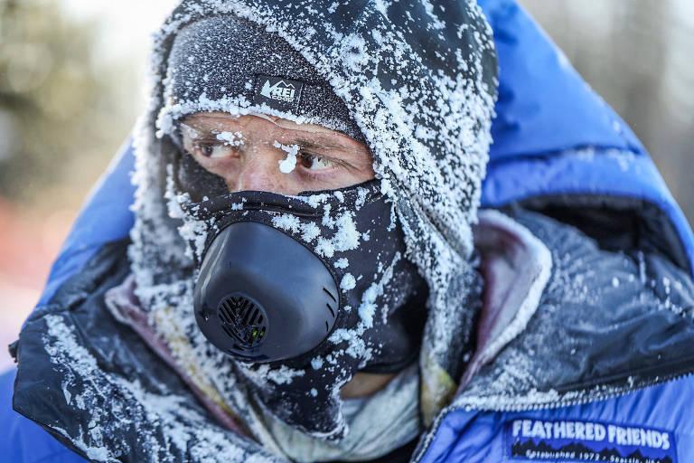 Cariocas sucumbem após suor virar gelo em ultramaratona nos EUA