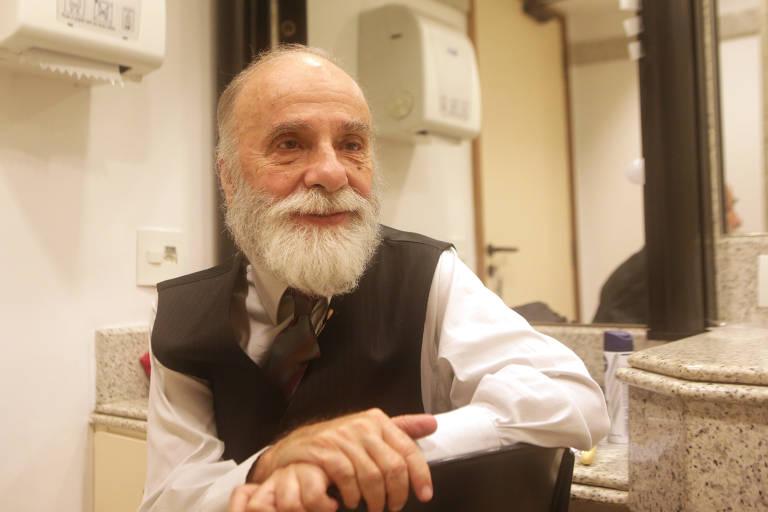 O ator Renato Borghi