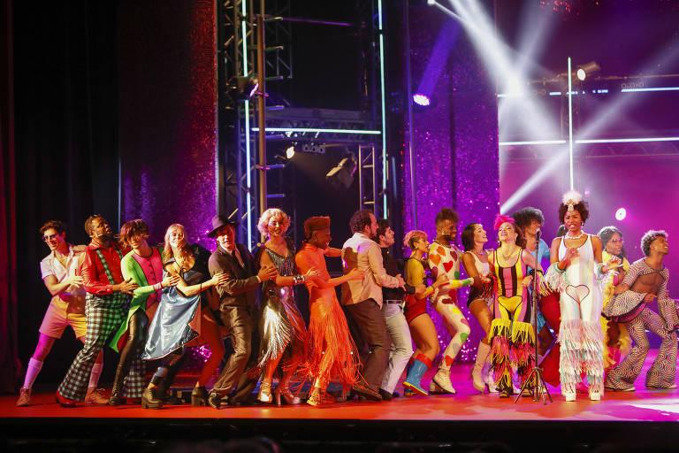 Musical 'O Frenético Dancin' Days'