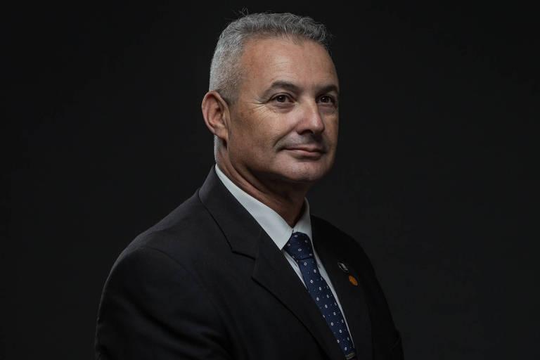 "O deputado estadual Coronel Telhada (PP), ex-Rota e representante da ""bancada da bala"", vai para seu segundo mandato na Alesp"