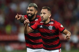 Copa Libertadores - Group Stage - Group D - Flamengo v Liga de Quito
