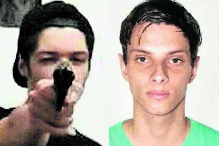Guilherme, 17 e Luiz Henrique 25, autores do massacre em uma escola em Suzano